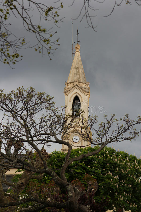 De toren van de kerk royalty-vrije stock afbeelding