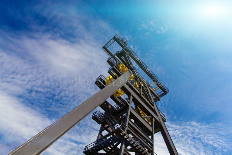 De toren van de mijn royalty-vrije stock foto