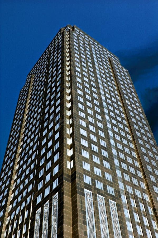 De toren van de nacht stock foto's