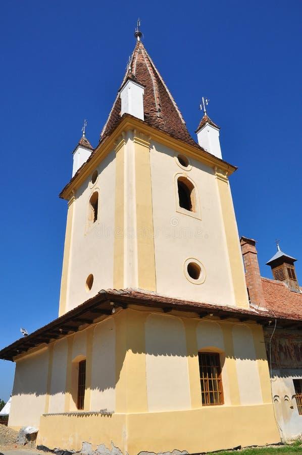 De Toren van de orthodoxe Kerk royalty-vrije stock afbeeldingen