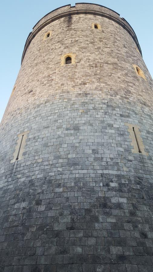 De toren van de steen stock foto