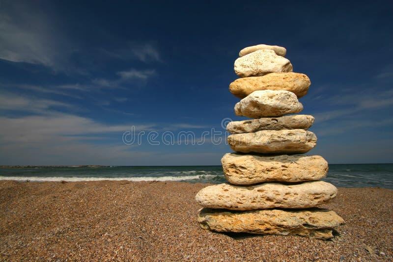 De toren van de steen royalty-vrije stock foto's