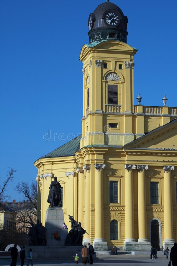 De toren van de tempel stock foto's