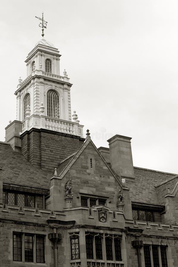 De toren van de Universiteit van Davenport royalty-vrije stock afbeeldingen