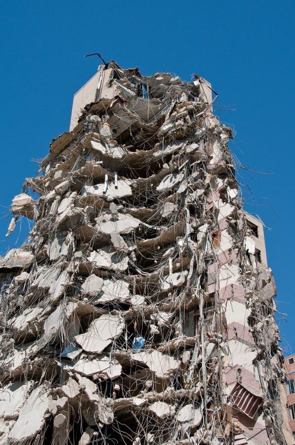 De toren van de vernieling stock foto