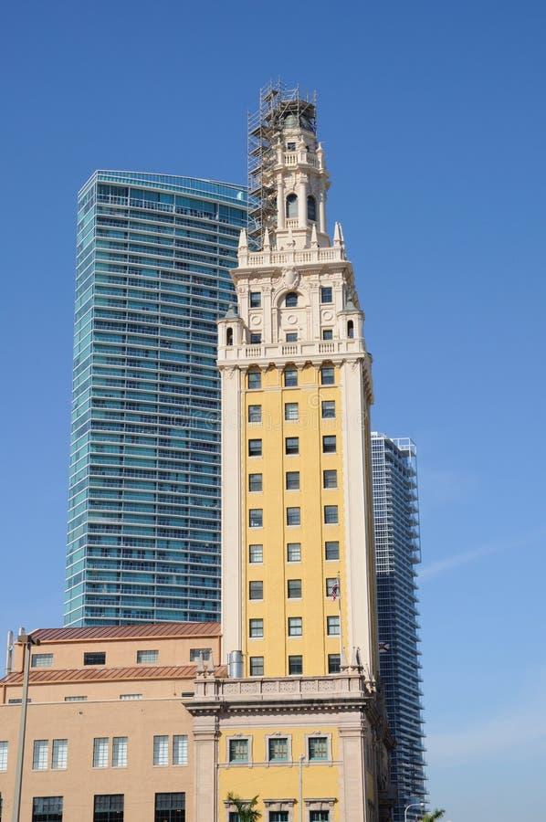 De Toren van de vrijheid in Miami, Florida royalty-vrije stock foto
