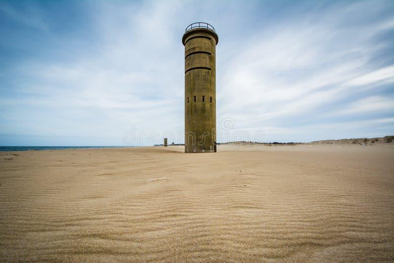 De Toren van de Wereldoorlog IIobservatie bij het Park van de Staat van Kaaphenlopen in Re stock fotografie