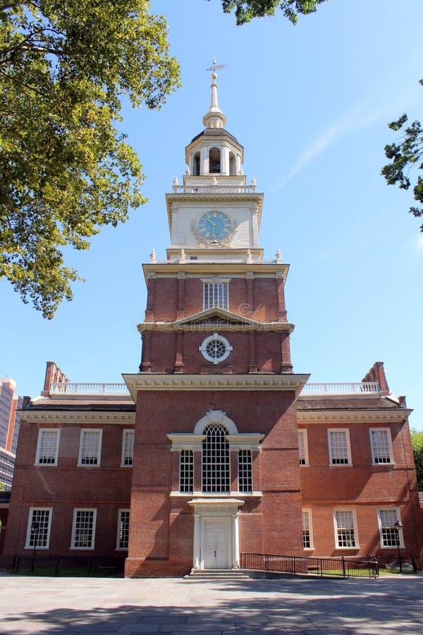 De toren van de Zaal van de onafhankelijkheid royalty-vrije stock foto