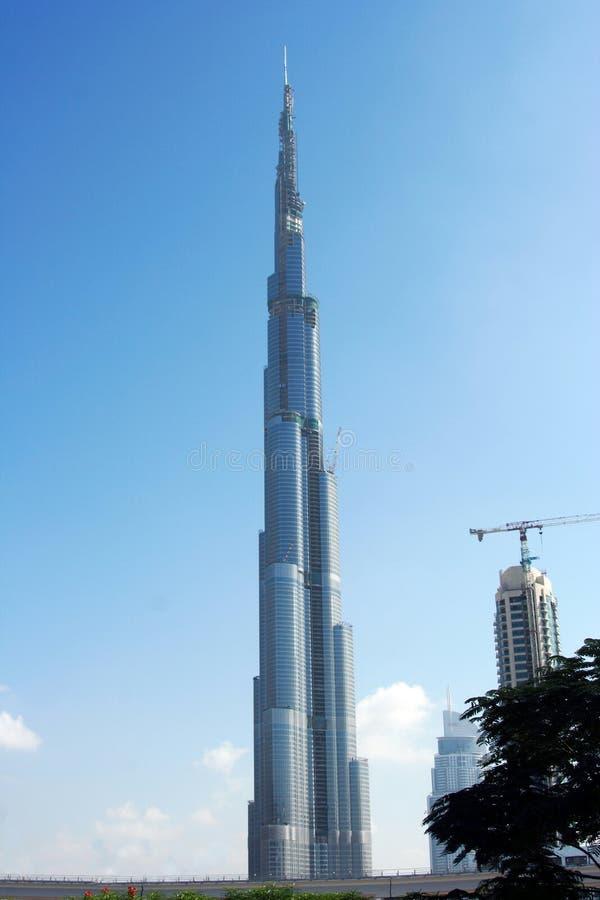 De Toren van Doubai van Burj in Doubai de V.A.E royalty-vrije stock foto's