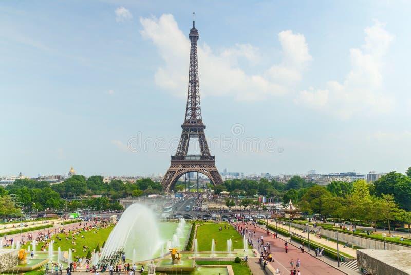 De toren van Eifel in Parijs royalty-vrije stock afbeelding