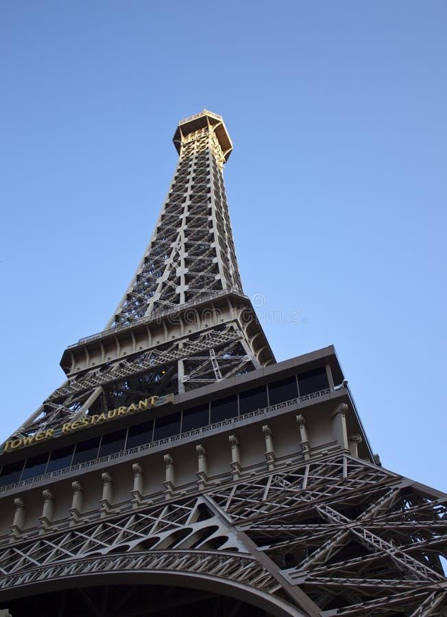 De Toren van Eiffel in Las Vegas royalty-vrije stock afbeelding