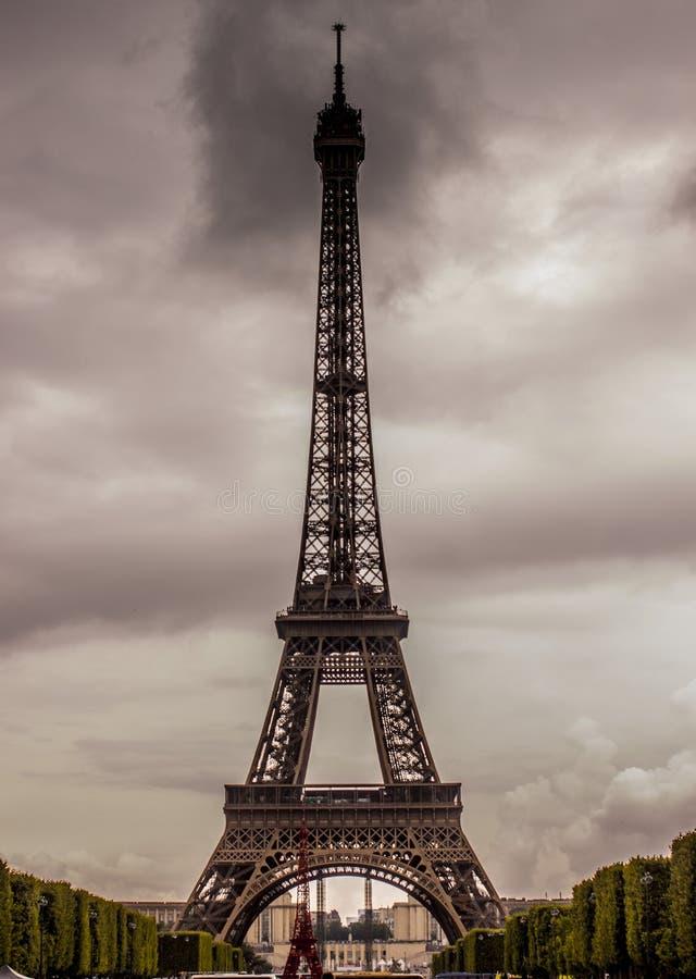 De toren van Eiffel, Parijs royalty-vrije stock afbeeldingen