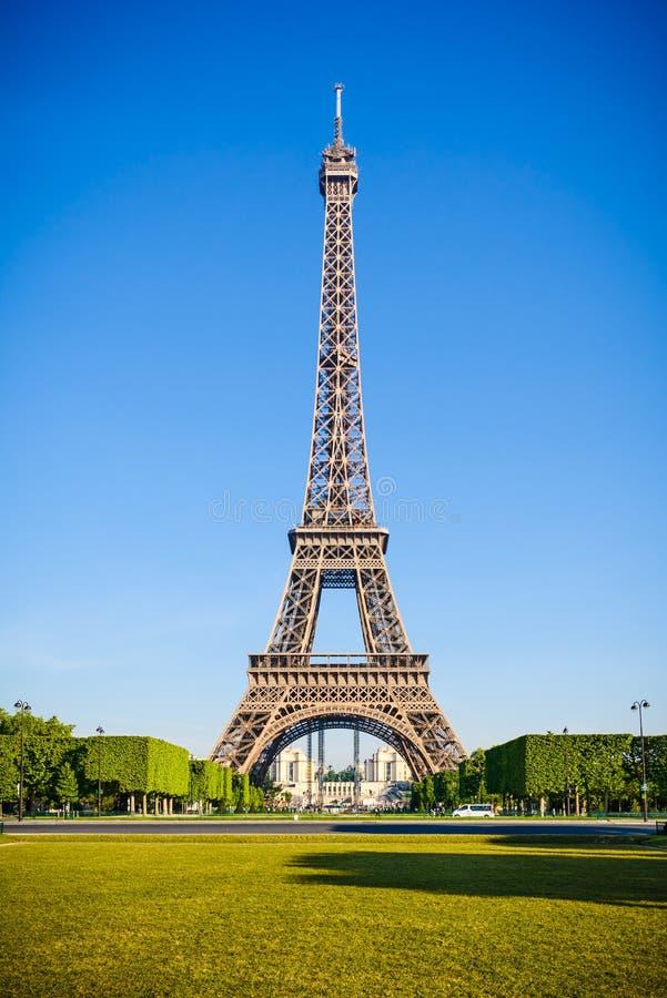 De Toren van Eiffel, Parijs stock fotografie