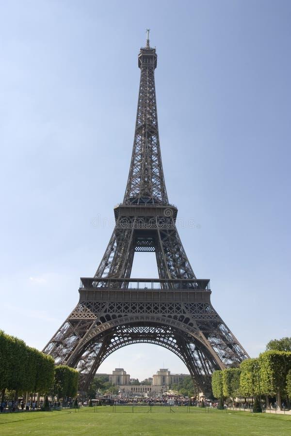 De toren van Eiffel - Parijs, Frankrijk royalty-vrije stock foto's