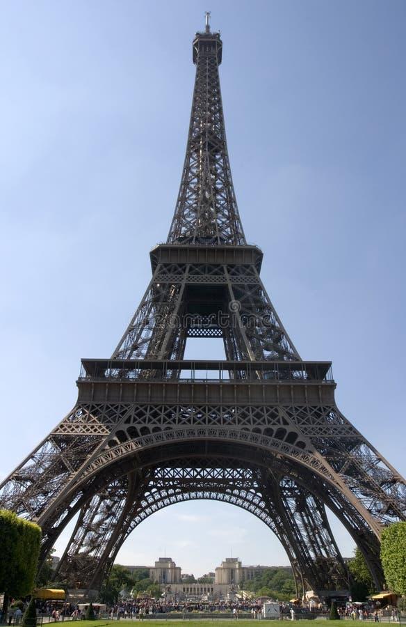 De toren van Eiffel - Parijs, Frankrijk stock foto's
