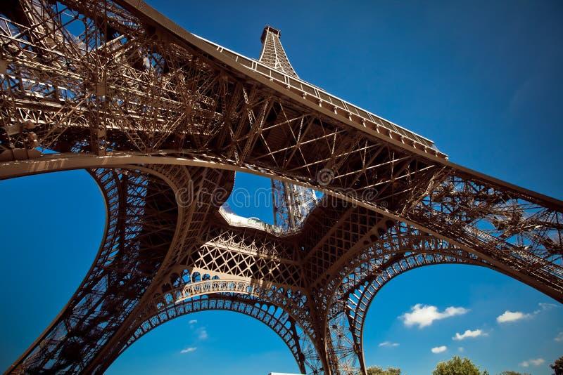 De Toren van Eiffel, Parijs, Frankrijk royalty-vrije stock foto's