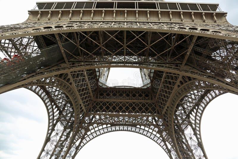 De Toren van Eiffel in Parijs Frankrijk royalty-vrije stock fotografie