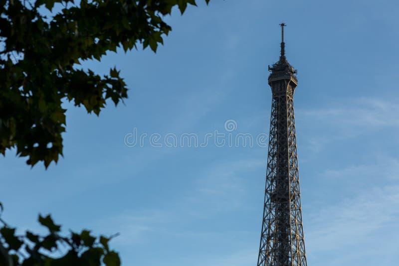 De Toren van Eiffel van Parijs, Frankrijk, Europa stock foto's