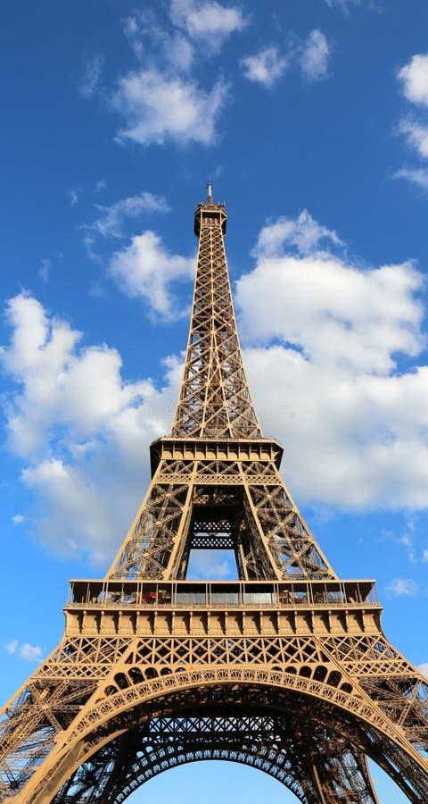 De Toren van Eiffel in Parijs Frankrijk stock foto's