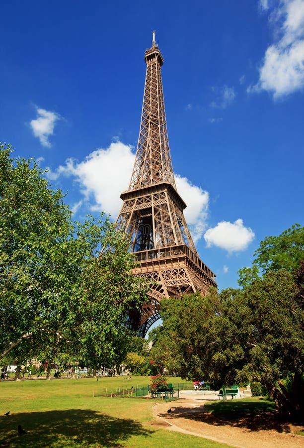 De Toren van Eiffel van Parijs stock foto's