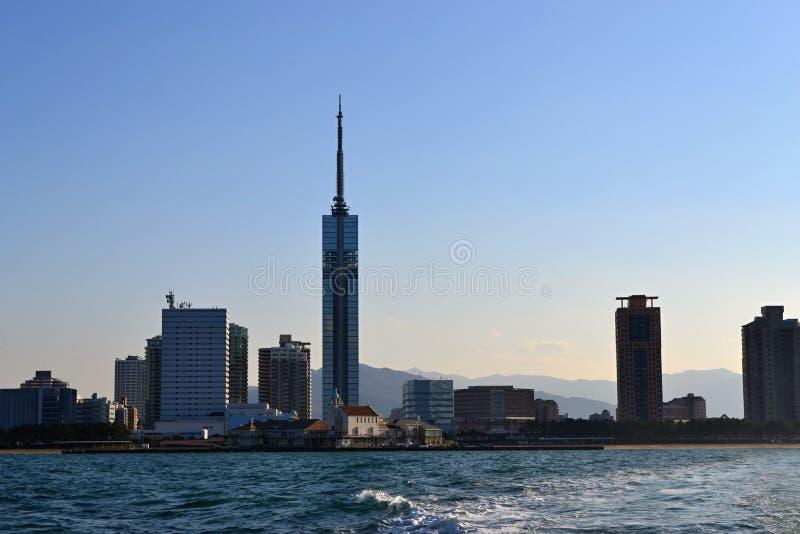 De Toren van Fukuoka royalty-vrije stock afbeeldingen