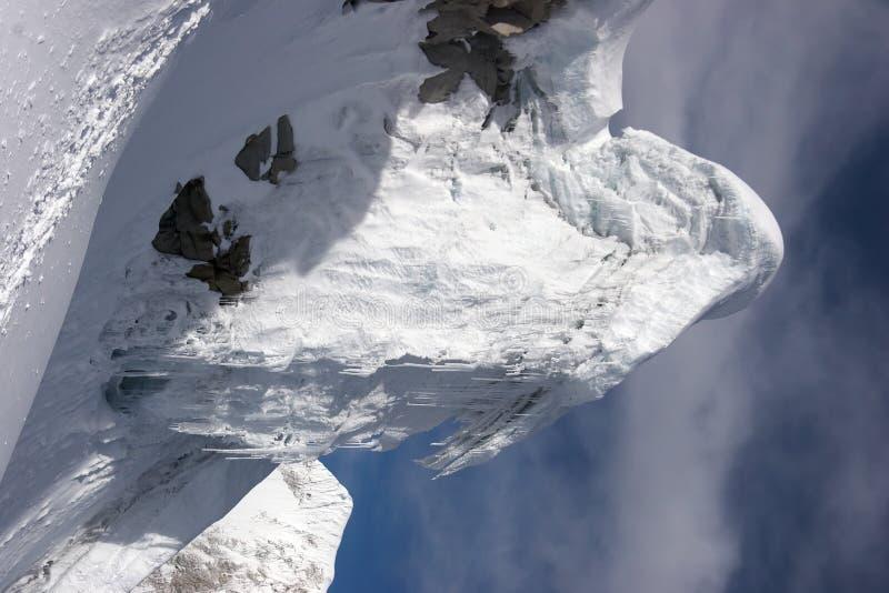 De toren van het ijs royalty-vrije stock afbeeldingen