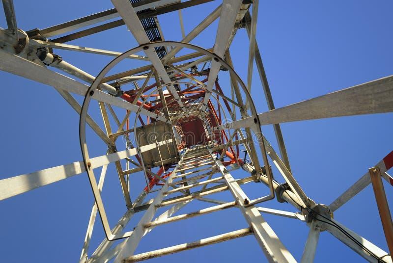 De toren van het ijzer van hierboven royalty-vrije stock afbeelding