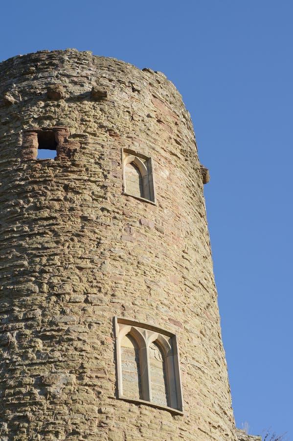 De toren van het kasteel stock fotografie