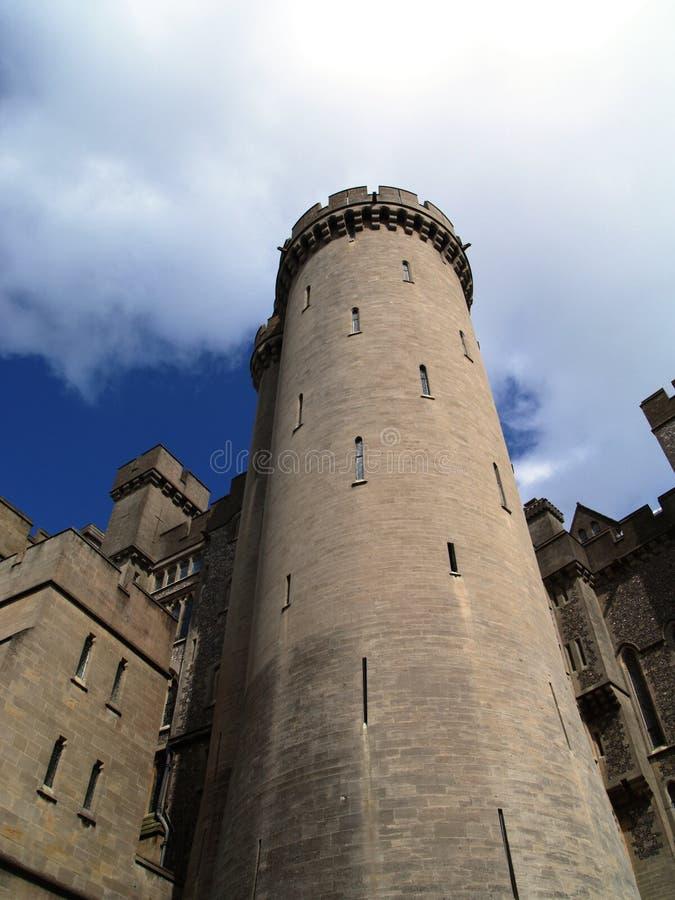 De Toren van het Kasteel van Arundel stock foto