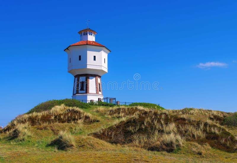 De toren van het Langeoogwater royalty-vrije stock afbeeldingen