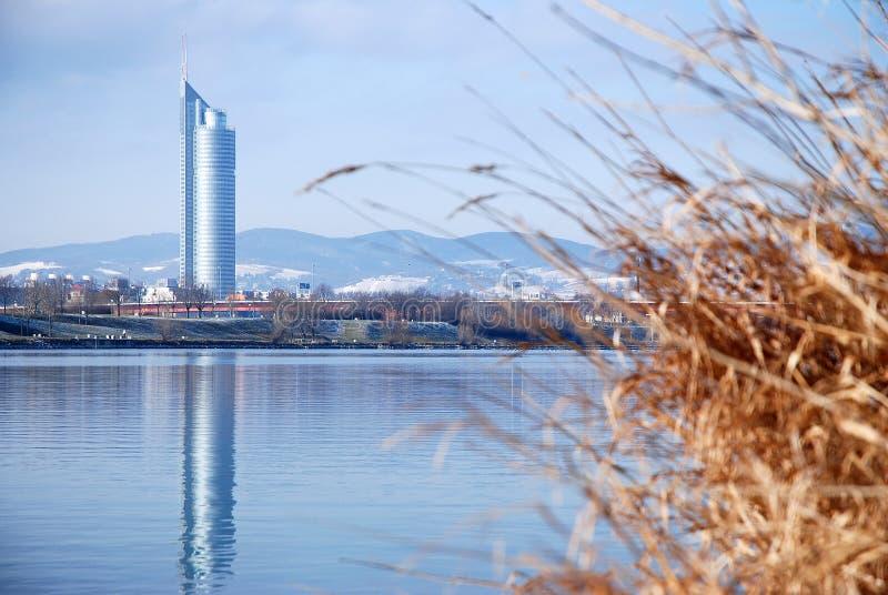 De Toren van het millennium stock afbeelding