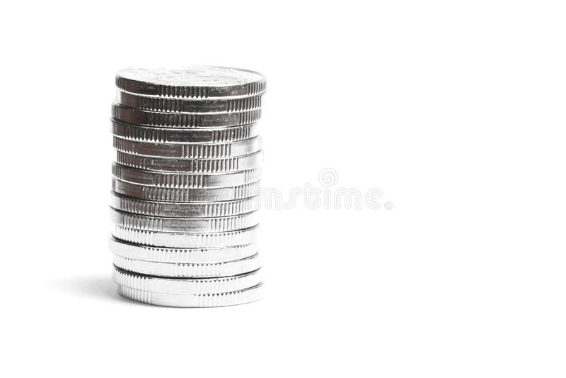 De toren van het muntstuk stock foto