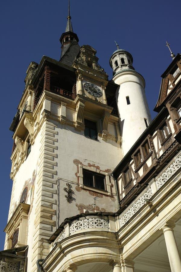 De Toren van het Peleskasteel royalty-vrije stock afbeeldingen