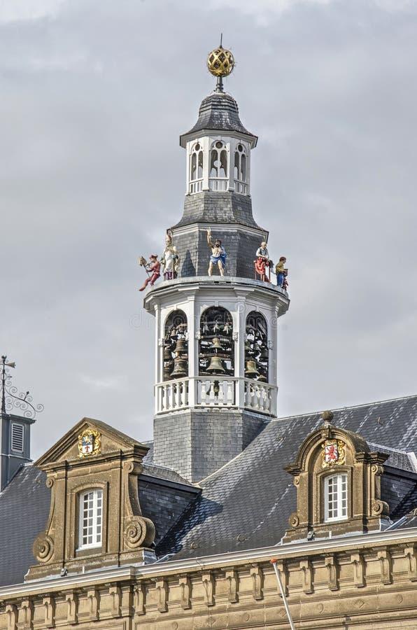 De toren van het Roermondstadhuis stock foto