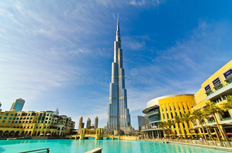 De Toren van Khalifa stock foto