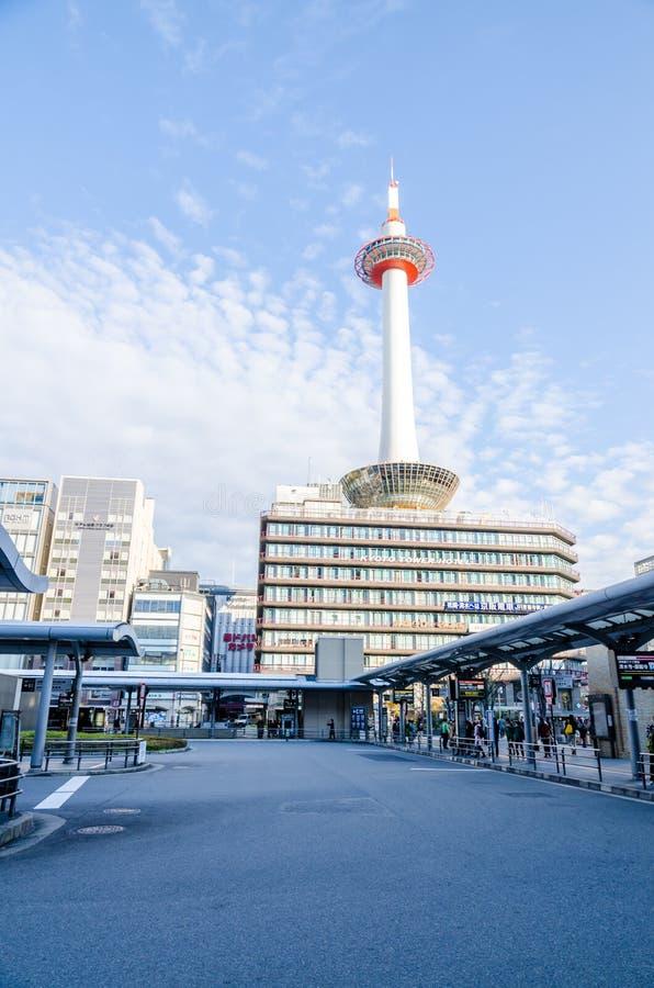 De Toren van Kyoto in Kyoto stock foto
