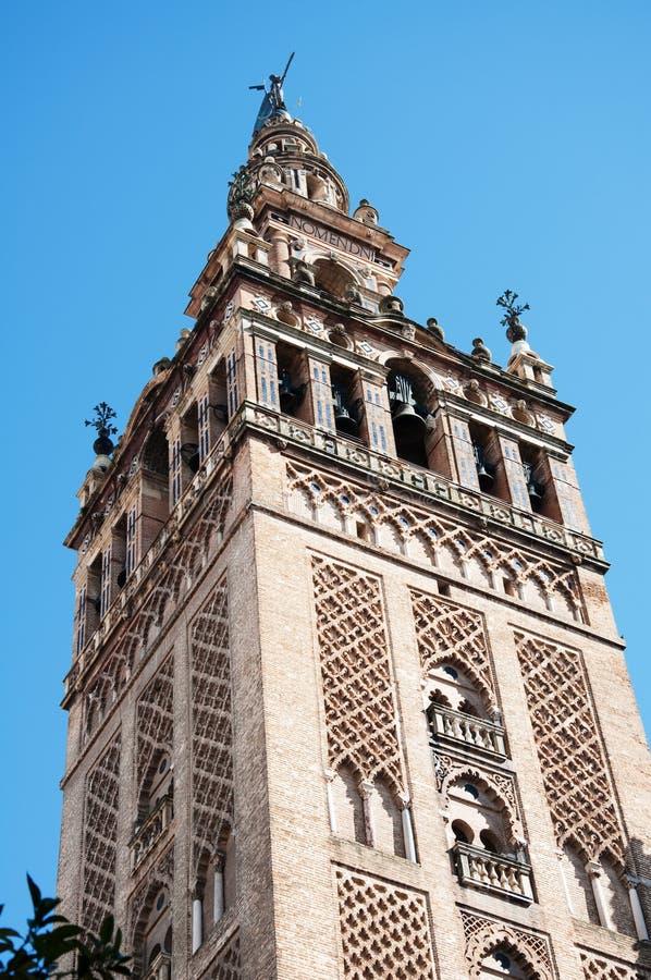 De Toren van La Giralda royalty-vrije stock foto