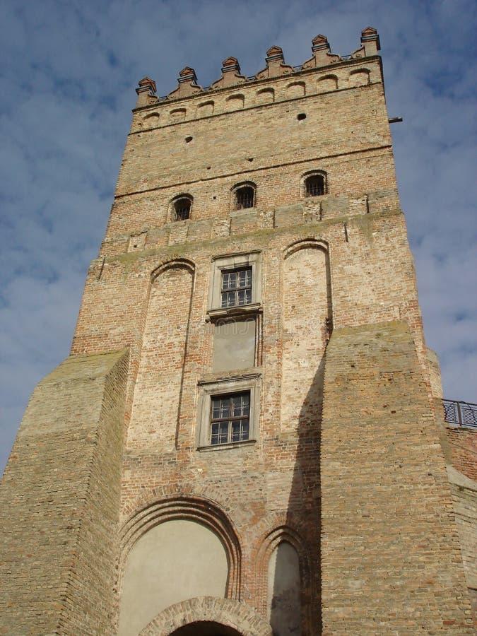 De Toren van Lubart royalty-vrije stock afbeelding