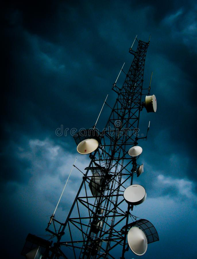 De toren van macht stock fotografie
