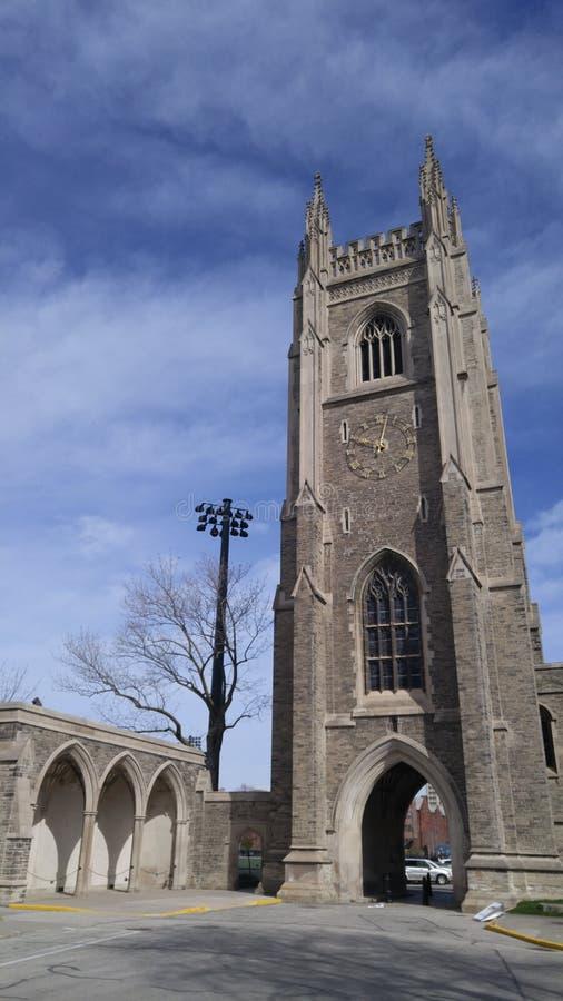 De Toren van militairen, een Universiteit van de Oorlogsgedenkteken van Toronto royalty-vrije stock foto