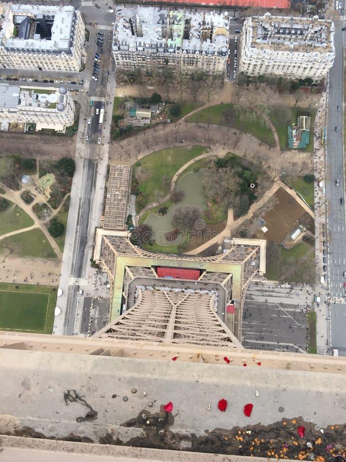 De Toren van Parijs Eifel stock afbeeldingen