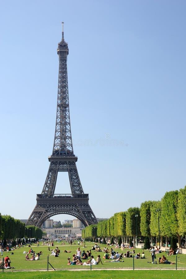 De Toren van Parijs - van Eiffel stock fotografie