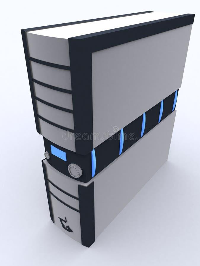 De toren van PC vector illustratie