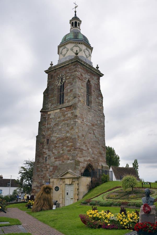 De Toren van de peperpot stock afbeeldingen