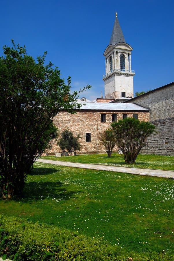De toren van Rechtvaardigheid - Paleis Topkapi royalty-vrije stock foto's