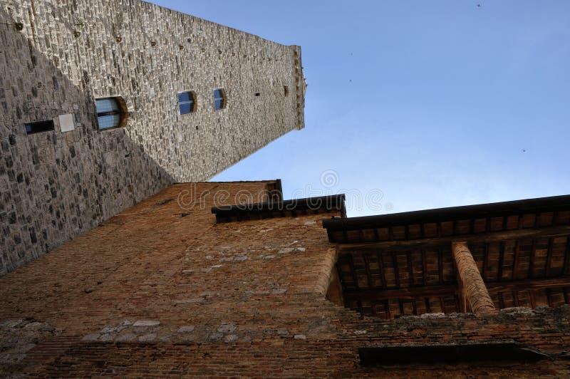 De Toren van San Gimignano royalty-vrije stock afbeeldingen