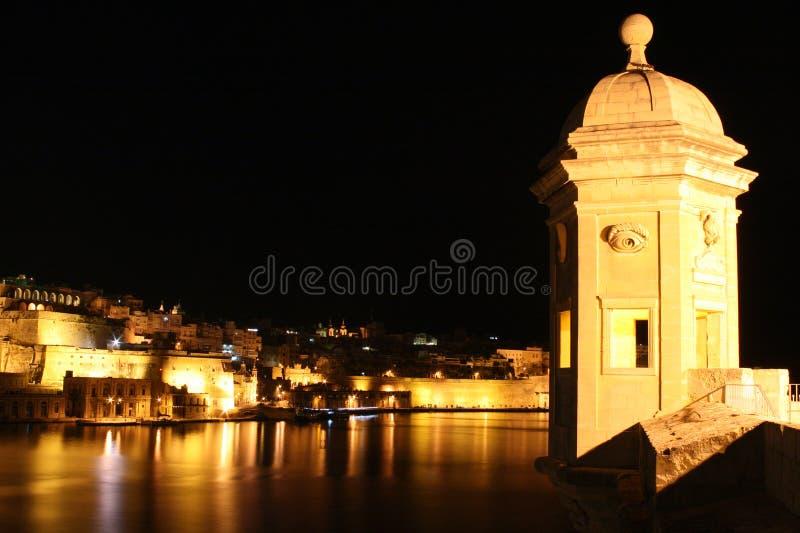 De toren van Senglea stock afbeeldingen