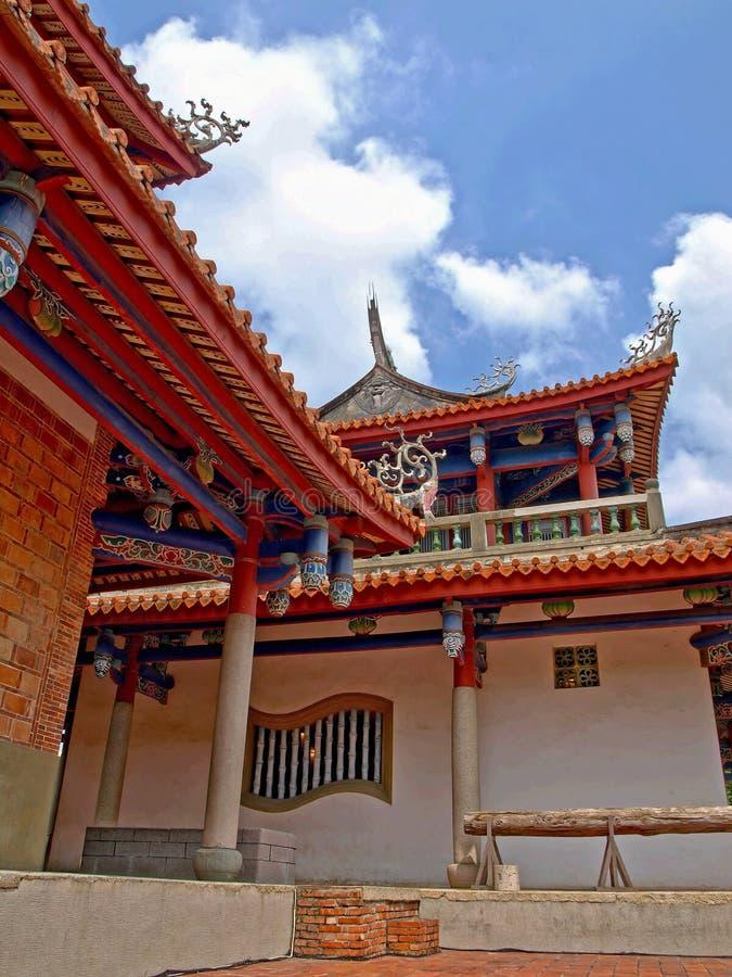 De Toren van Tainan Chihkan stock afbeeldingen