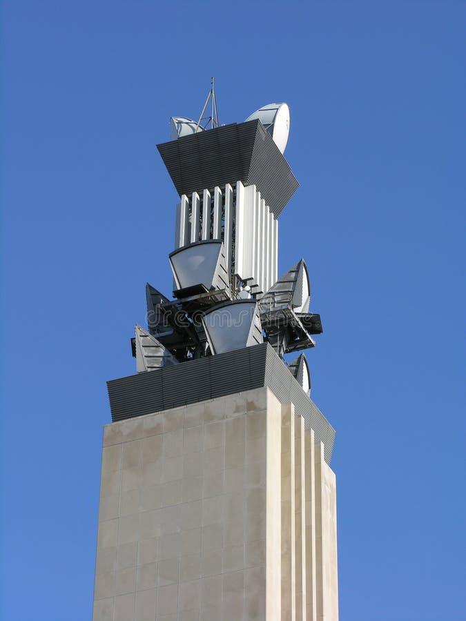 De Toren van telecommunicatie stock foto's