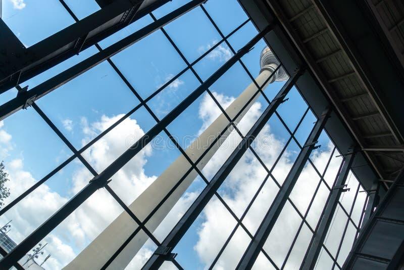 De Toren van TV van Berlijn stock afbeelding